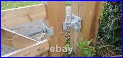 5 bar driveway field wooden gate