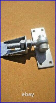 Adjustable hook and band hinges wooden gates fencing driveway gates landscaping