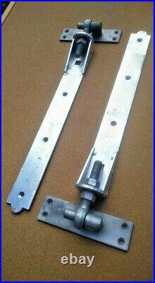Adjustable hook on plate hinges 30 fencing wooden gates driveway entrance gates