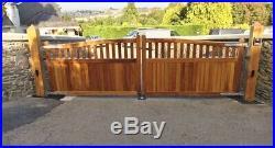 Bespoke Wooden Entrance / Driveway Gates