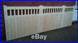 Bi-Fold Driveway Gates Wooden entrance Gates Cottage style custom made service