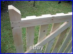 Budget Single Wooden Driveway Gate. 3ft x 2ft 6 6ft redwood