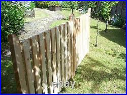 Budget Single Wooden Driveway Gate. 4ft x 2ft 6 6ft
