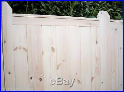 CUSTOM MADE'SUPREME' Heavy Duty Panelled Wooden Double Driveway Gates