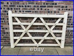 Double 6ft Wooden Driveway 5 Bar Gates Diamond Braced Driveway Gate Field Gates