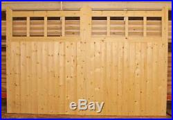 Driveway Gate Bespoke Softwood Wooden 600 Pair Timber Gates 84x120