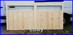 Driveway Gate Wooden H4ft W8ft Heavy Duty Frame 4.5cmx10cm