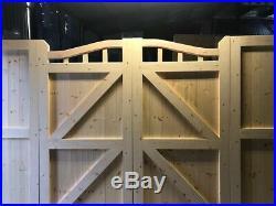 Driveway Gates Bifold Wooden Gate Matching Panels Bifolding Fence Infill Panel