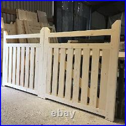 Driveway Gates New Wooden Gates 3 6 High X 11 5 Wide The Ranchers Picket