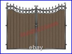 Driveway Gates/composite Wood Gate / Wooden Gate/ Metal Gate/bi Fold Gates