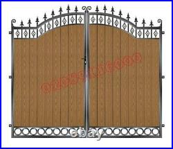 Driveway Gates/composite Wood Gate / Wooden Gate/ Metal Gate/wrought Iron Gate