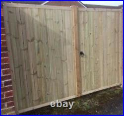 Driveway gate handmade wooden driveway gates Free DELIVERY