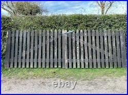 Heavy Wooden Garden/ Driveway/ Drive gates