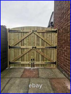 Pressure Treated Driveway Gates T&g & Wooden Posts