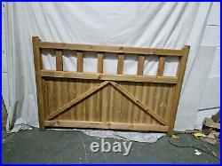 Quorn Wooden Driveway Gates 3570mm W x 1200mm H PAIR