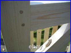 Single Wooden Driveway Gate. 4ft x 2ft 6 6ft redwood