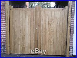 WOODEN DRIVEWAY GATE! ESTATE GATES! Made to measure! Bespoke! High quality