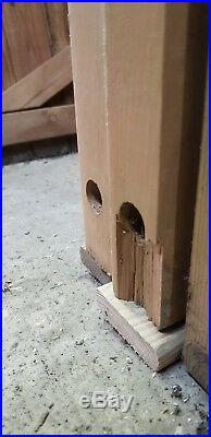 WOODEN DRIVEWAY GATES LUXURY GATES, REDUCED, see pics, HEAVY DUTY 3.6mx1.4 tall