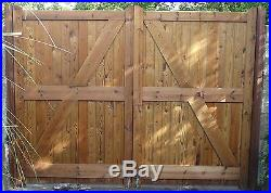Wooden Driveway Gate's'wanstrow