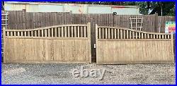 Wooden Driveway Gates 6ft x 24ft