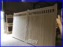 Wooden Driveway Gates New The Hamlet Gate Spindles Large Estate Custom Bespoke