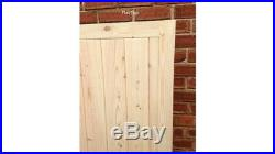 Wooden Driveway Gates Timber Double Gates Heavy Duty Made To Measure Service
