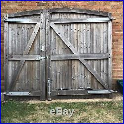 Wooden Driveway Gates Used