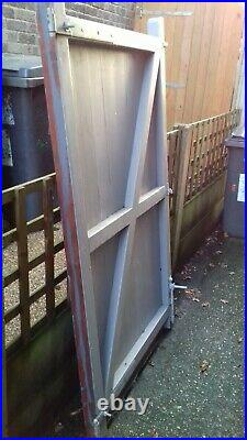 Wooden Driveway Gates With All Furniture 6 Ft High X 6 Ft 8 Wide