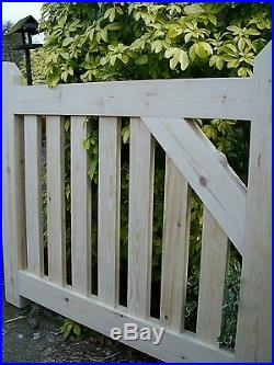 Wooden -Driveway Pair of Gates = 4ft High