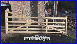 Wooden Entrance Driveway Field Gate Heanton LOTS OF SIZES AVAILABLE