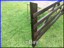 Wooden Gate 8ft 6 Garden Driveway Paddock Field Heavy Duty