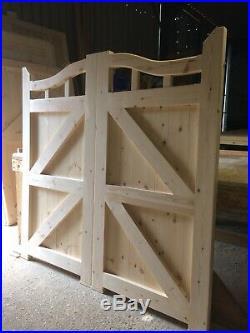 Wooden Gates Curved Top Entrance Garden Gates 6 X 6 Round Curve Driveway Gate