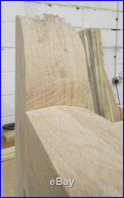 Wooden Oak Swan Neck Driveway Gates Mortice & Tenoned 6ft 1800mm