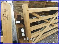 Wooden gates driveway/farm